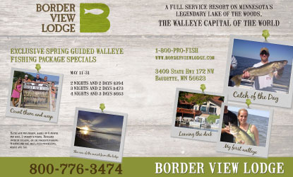 Border View Lodge advertisement